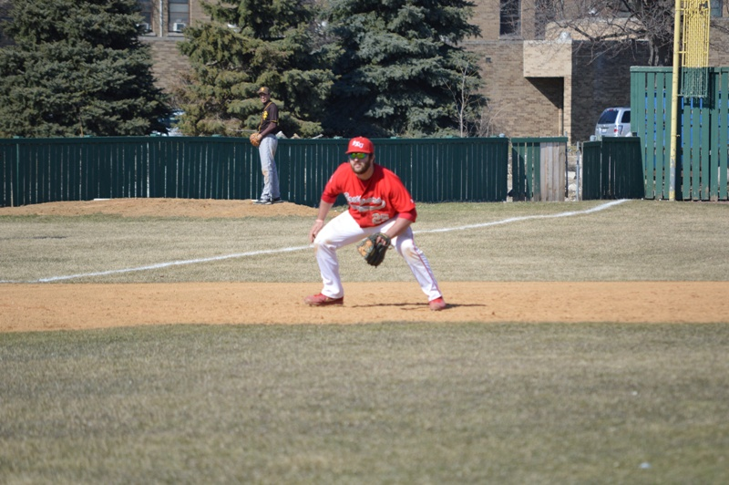 SXU Baseball vs St. Francis (Ill.) 4/1/14 - Photo 22