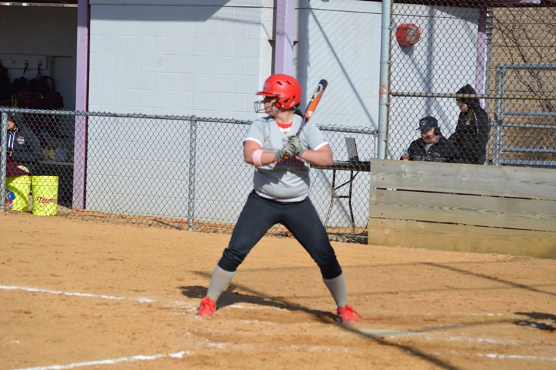SXU Softball vs Robert Morris (Ill.) 4/1/14 - Photo 6