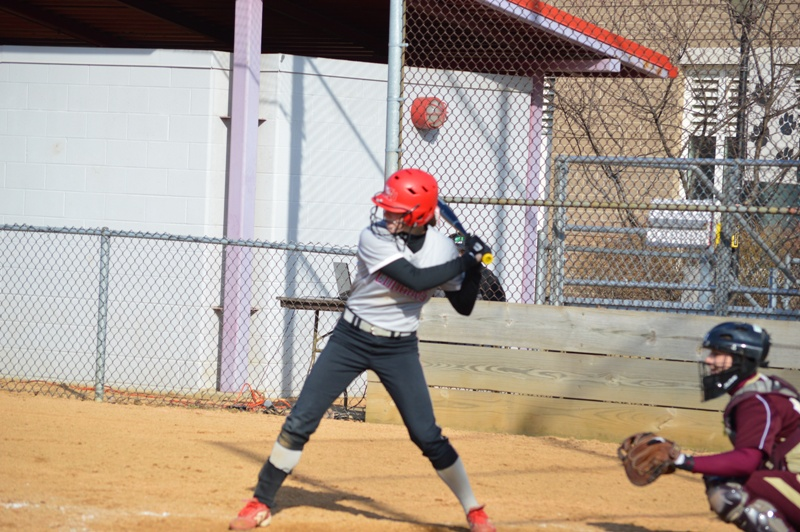 SXU Softball vs Robert Morris (Ill.) 4/1/14 - Photo 17