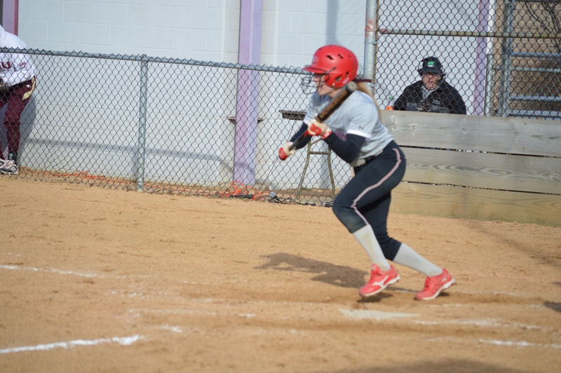 SXU Softball vs Robert Morris (Ill.) 4/1/14 - Photo 22