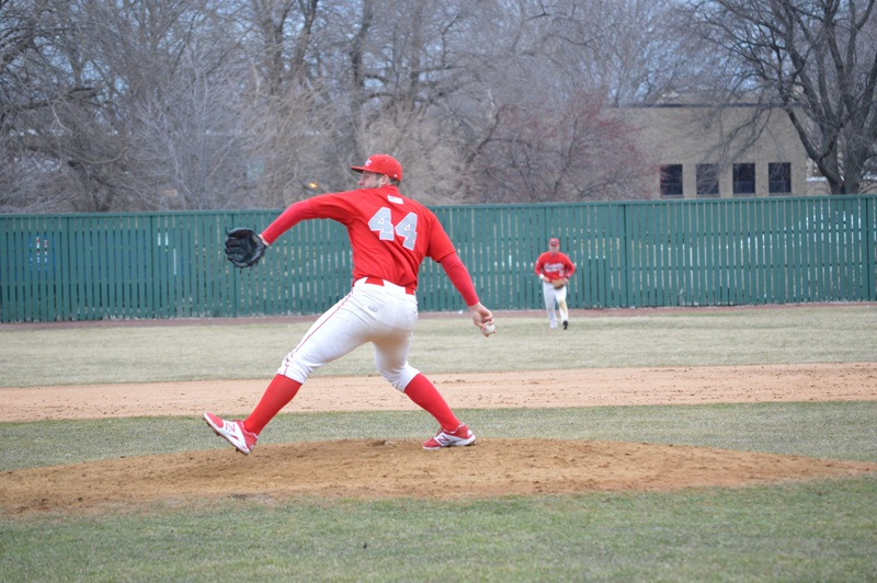 13th SXU Baseball vs Trinity Int'l (Ill.) 4/4/2014 Photo