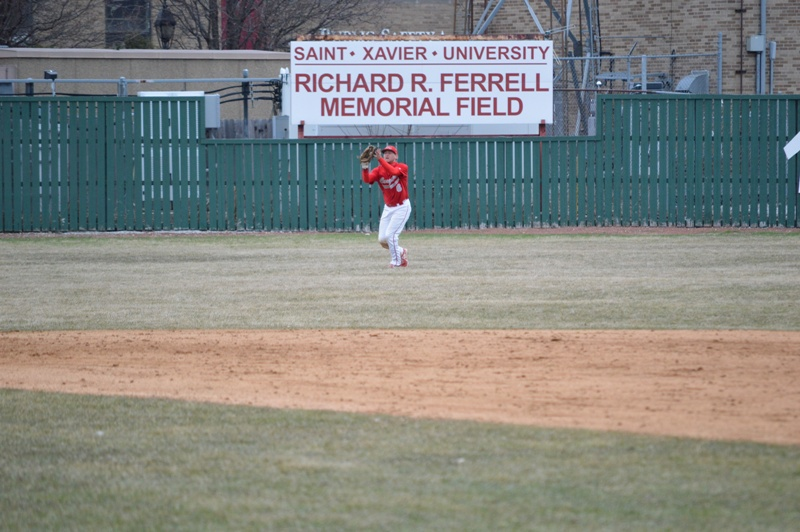 15th SXU Baseball vs Trinity Int'l (Ill.) 4/4/2014 Photo