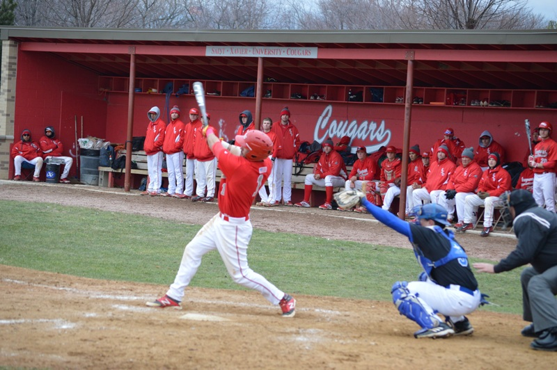 19th SXU Baseball vs Trinity Int'l (Ill.) 4/4/2014 Photo