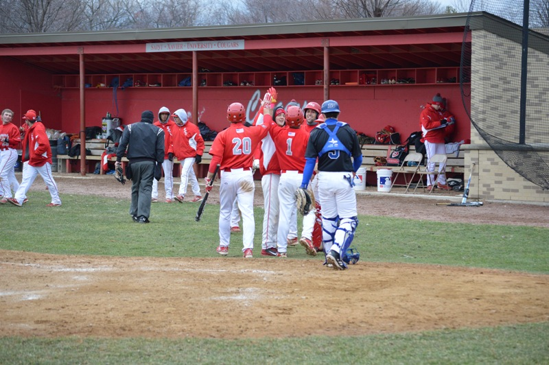 23rd SXU Baseball vs Trinity Int'l (Ill.) 4/4/2014 Photo