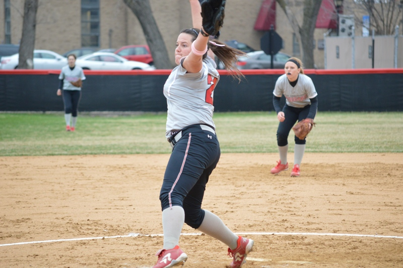4th SXU Softball vs Trinity Christian (Ill.) 4/10/2014 Photo