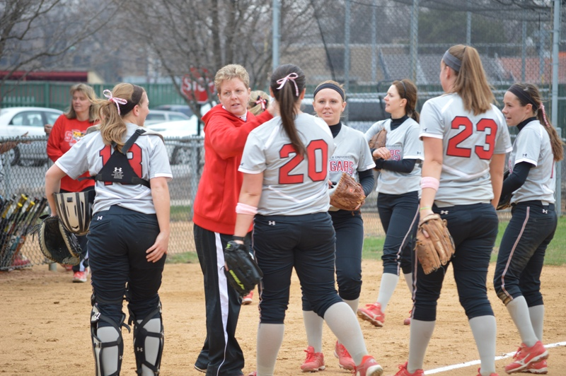 6th SXU Softball vs Trinity Christian (Ill.) 4/10/2014 Photo