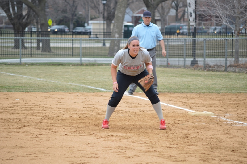 12th SXU Softball vs Trinity Christian (Ill.) 4/10/2014 Photo