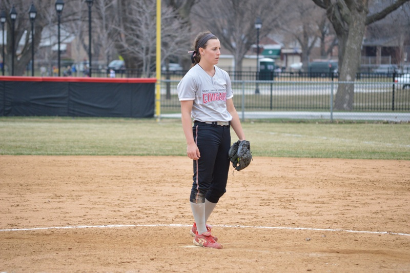26th SXU Softball vs Trinity Christian (Ill.) 4/10/2014 Photo
