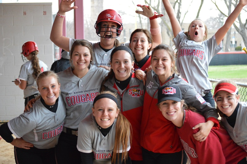 31st SXU Softball vs Trinity Christian (Ill.) 4/10/2014 Photo