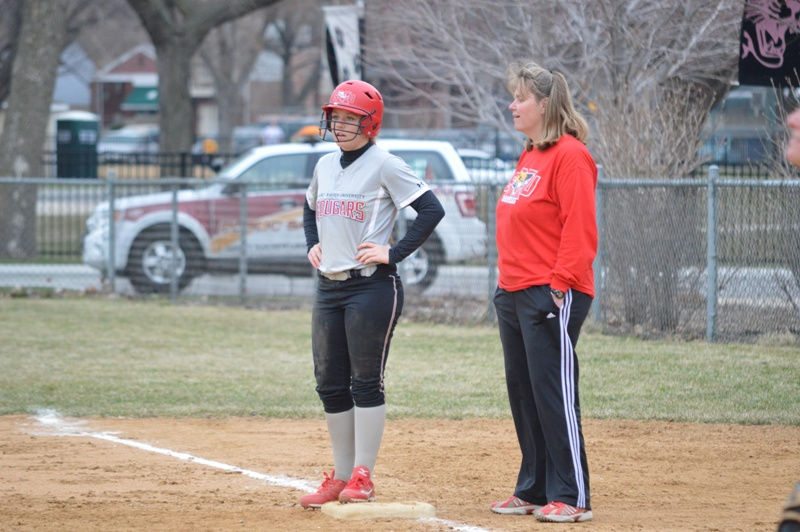 38th SXU Softball vs Trinity Christian (Ill.) 4/10/2014 Photo