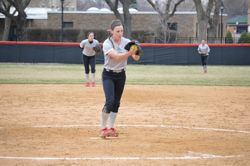 39th SXU Softball vs Trinity Christian (Ill.) 4/10/2014 Photo