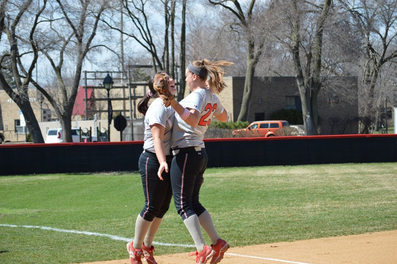 2nd SXU Softball vs Trinity International 4/11/14 Photo