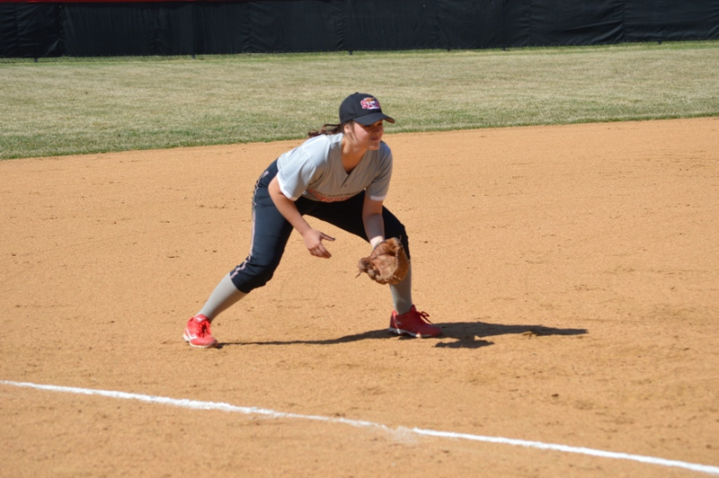 SXU Softball vs Trinity International 4/11/14 - Photo 6