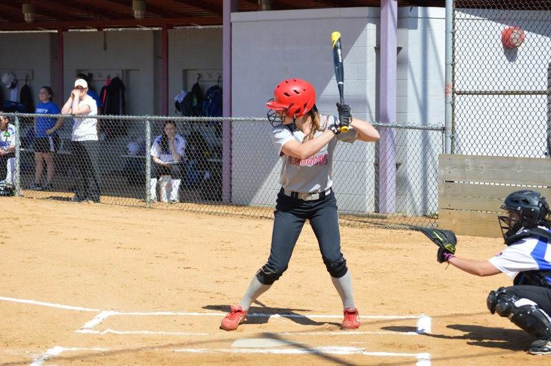 SXU Softball vs Trinity International 4/11/14 - Photo 9