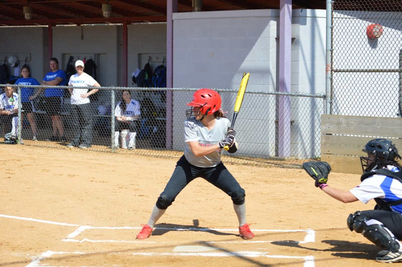 SXU Softball vs Trinity International 4/11/14 - Photo 12