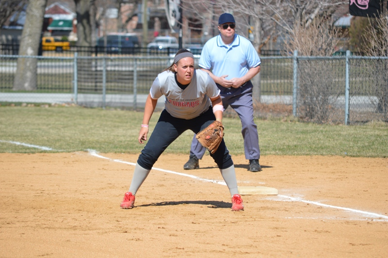 SXU Softball vs Trinity International 4/11/14 - Photo 18
