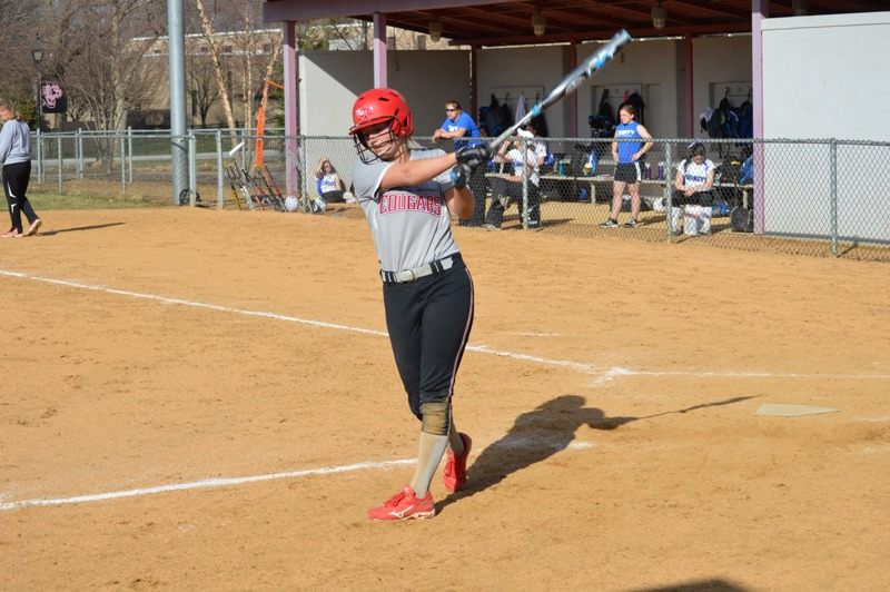SXU Softball vs Trinity International 4/11/14 - Photo 19