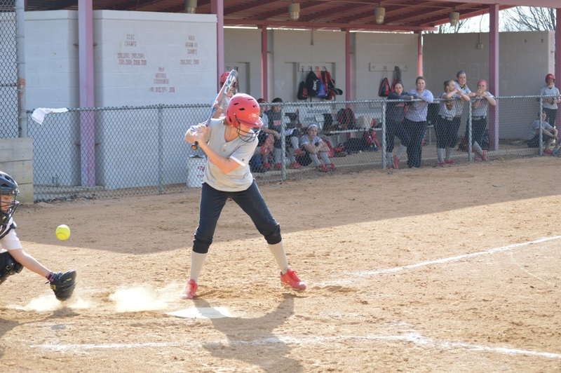 SXU Softball vs Trinity International 4/11/14 - Photo 23