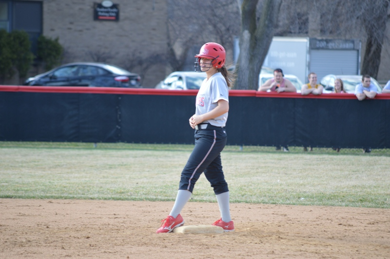 SXU Softball vs Trinity International 4/11/14 - Photo 25