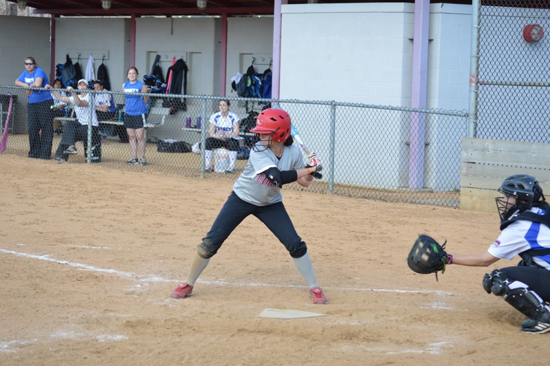 SXU Softball vs Trinity International 4/11/14 - Photo 27