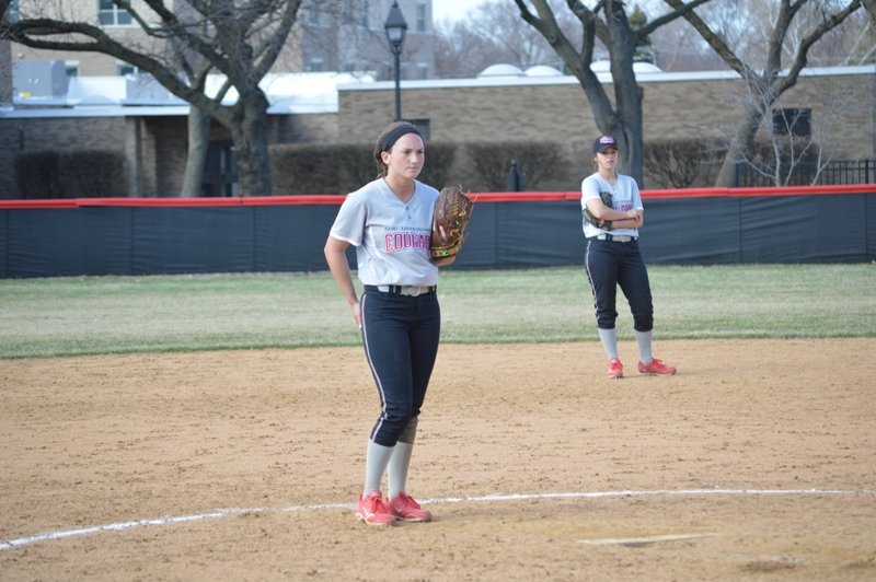 SXU Softball vs Trinity International 4/11/14 - Photo 29