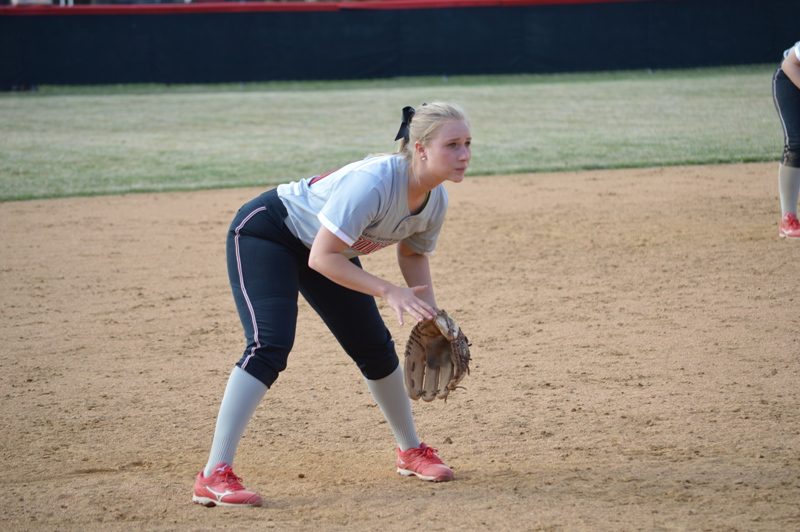 SXU Softball vs Trinity International 4/11/14 - Photo 31