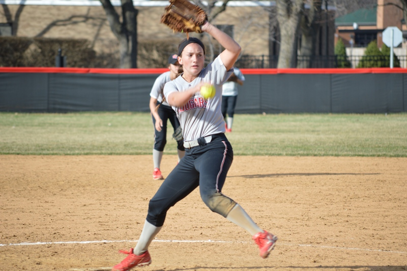 33rd SXU Softball vs Trinity International 4/11/14 Photo