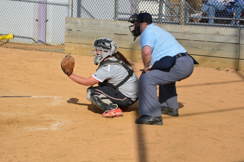 SXU Softball vs Trinity International 4/11/14 - Photo 35