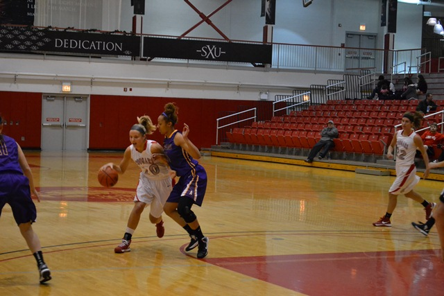 1st Saint Xavier vs. Ashford University (Iowa) Photo