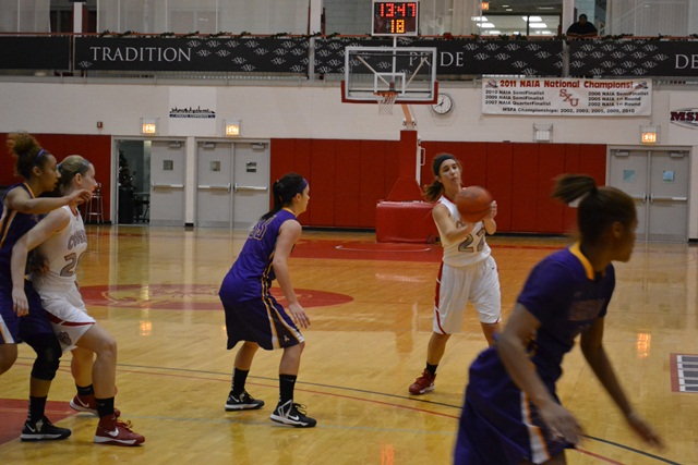 13th Saint Xavier vs. Ashford University (Iowa) Photo
