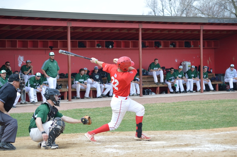 3rd SXU Baseball vs Roosevelt (Ill.) 4/12/2014 Photo