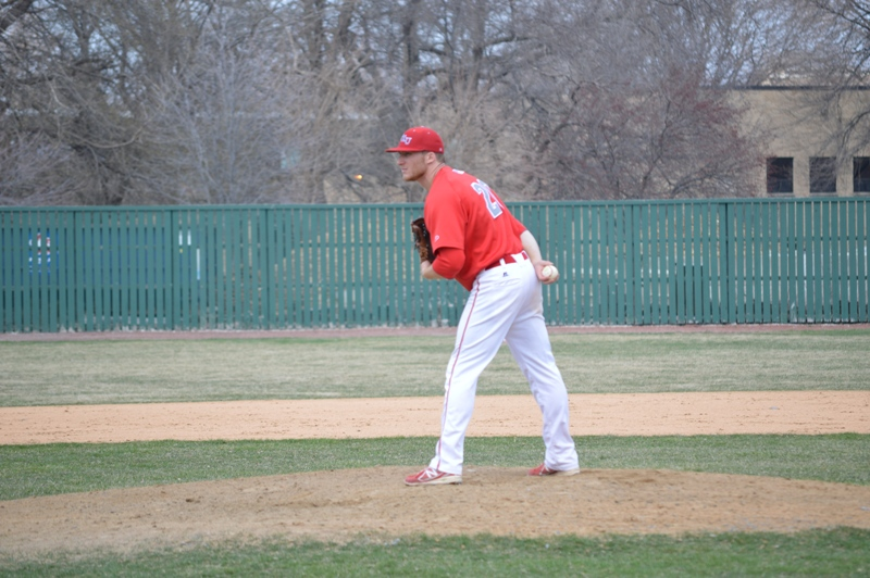 4th SXU Baseball vs Roosevelt (Ill.) 4/12/2014 Photo