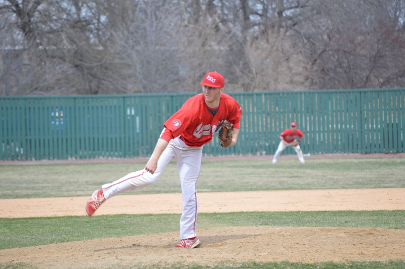 5th SXU Baseball vs Roosevelt (Ill.) 4/12/2014 Photo