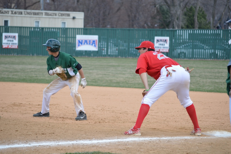 7th SXU Baseball vs Roosevelt (Ill.) 4/12/2014 Photo