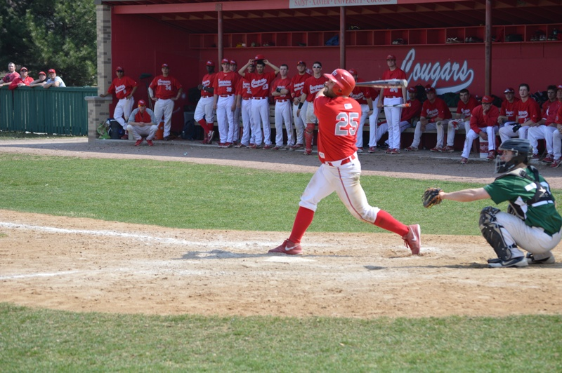 13th SXU Baseball vs Roosevelt (Ill.) 4/12/2014 Photo