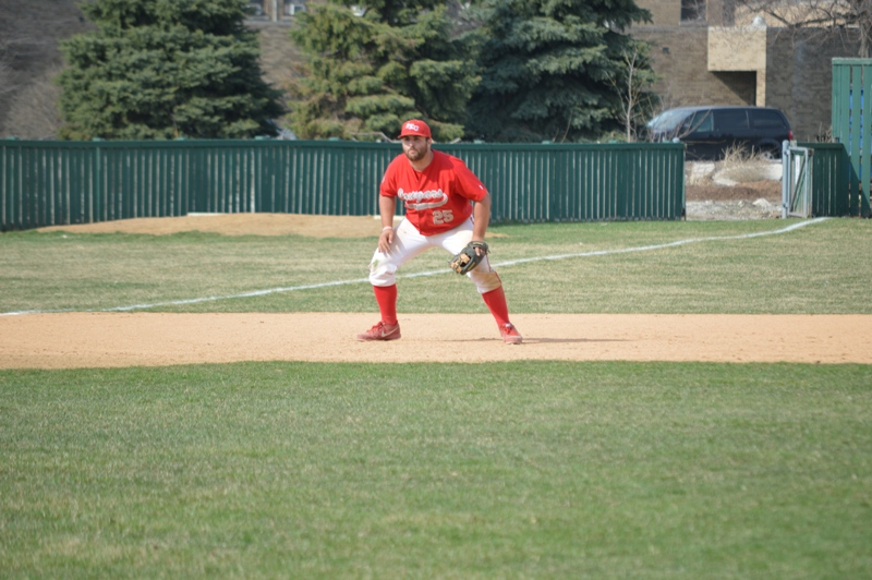 23rd SXU Baseball vs Roosevelt (Ill.) 4/12/2014 Photo