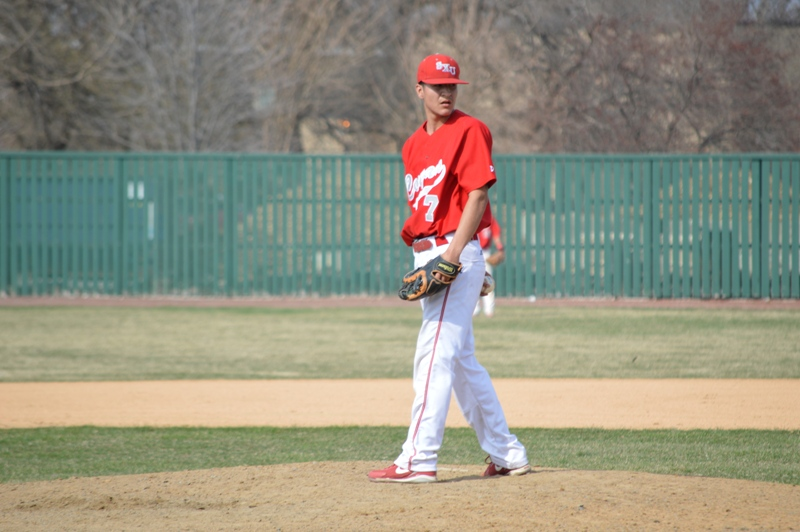 25th SXU Baseball vs Roosevelt (Ill.) 4/12/2014 Photo