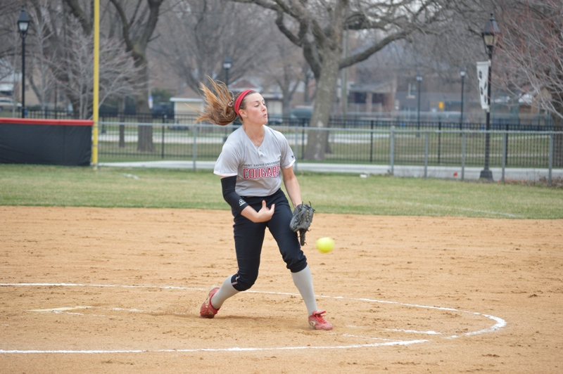 14th SXU Softball vs St. Francis (Ill.) 4/13/14 Photo