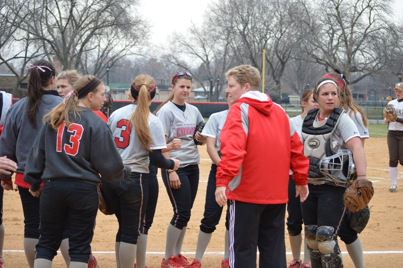 15th SXU Softball vs St. Francis (Ill.) 4/13/14 Photo