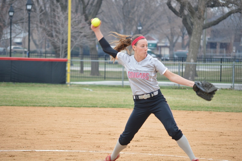 2nd SXU Softball vs St. Francis (Ill.) 4/13/14 Photo