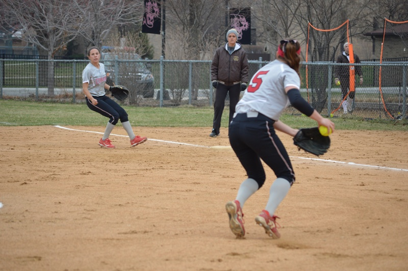 13th SXU Softball vs St. Francis (Ill.) 4/13/14 Photo