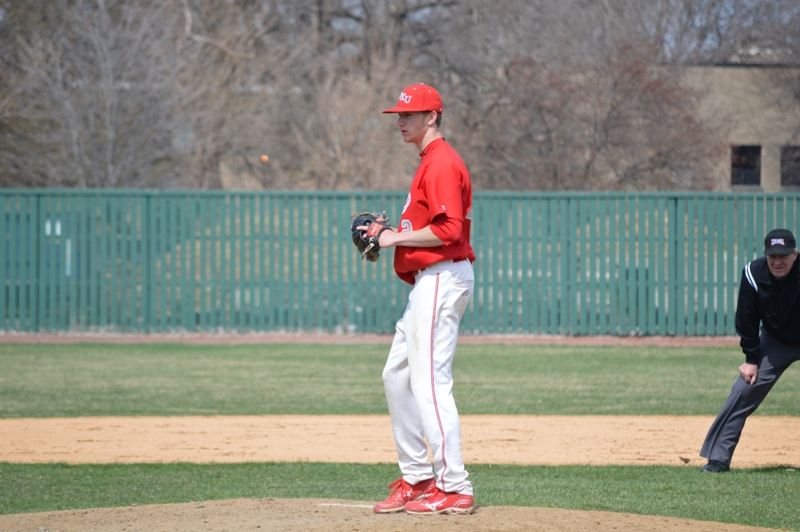 2nd SXU Baseball vs Holy Cross (Ind.) 4/16/14 Photo