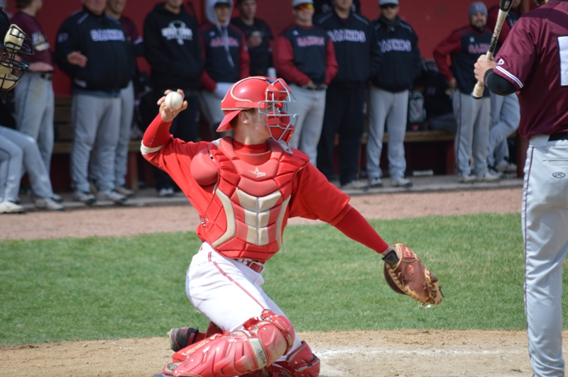 5th SXU Baseball vs Holy Cross (Ind.) 4/16/14 Photo