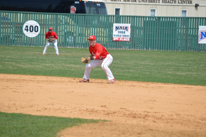 7th SXU Baseball vs Holy Cross (Ind.) 4/16/14 Photo