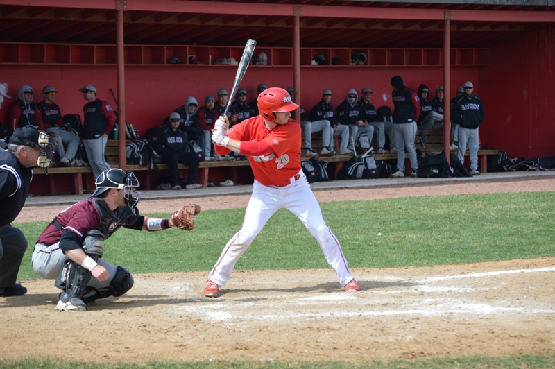 12th SXU Baseball vs Holy Cross (Ind.) 4/16/14 Photo