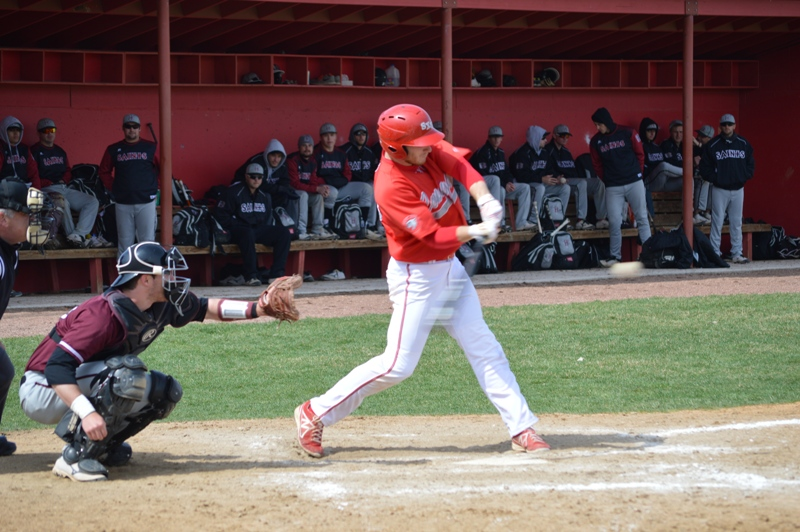 13th SXU Baseball vs Holy Cross (Ind.) 4/16/14 Photo