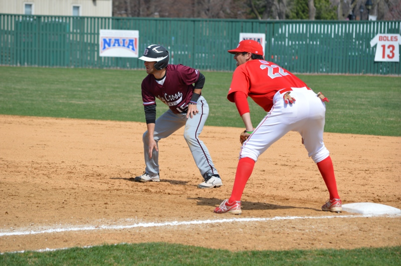18th SXU Baseball vs Holy Cross (Ind.) 4/16/14 Photo
