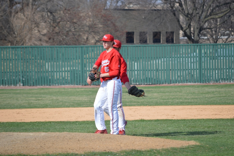 28th SXU Baseball vs Holy Cross (Ind.) 4/16/14 Photo