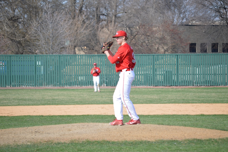 29th SXU Baseball vs Holy Cross (Ind.) 4/16/14 Photo