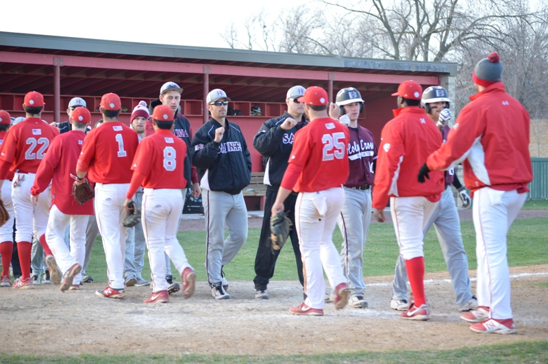 42nd SXU Baseball vs Holy Cross (Ind.) 4/16/14 Photo